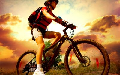 Usoden padec s kolesom